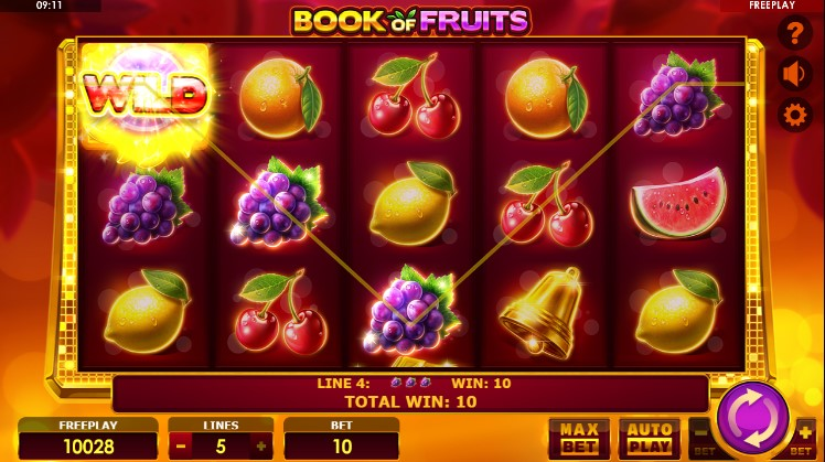 Book of Fruits demo