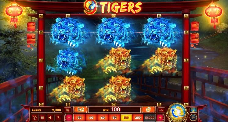 9 Tigers demo