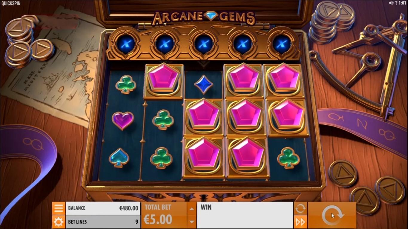 Arcane Gems demo