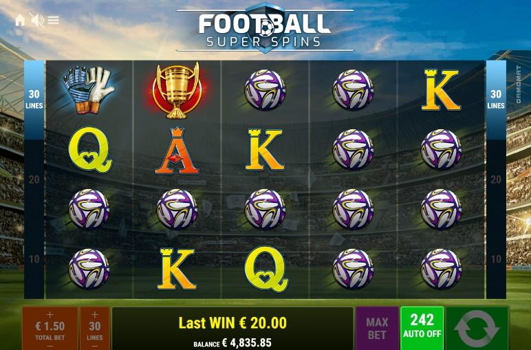Football Super Spins  demo