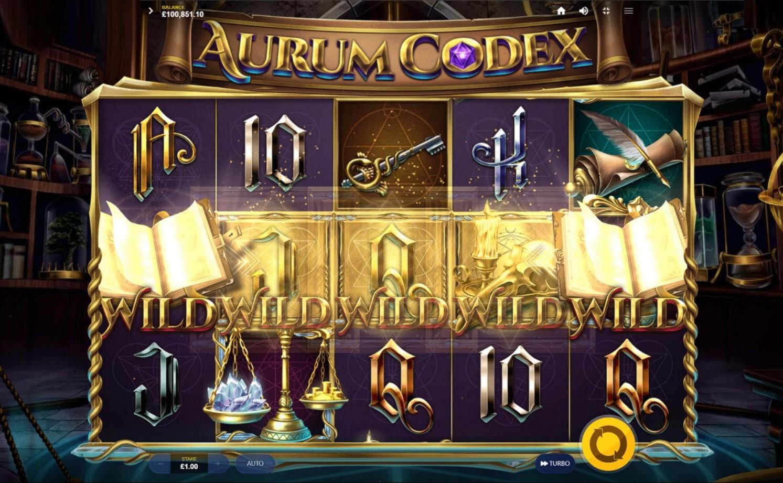 Aurum codex золотой кодекс игровой автомат