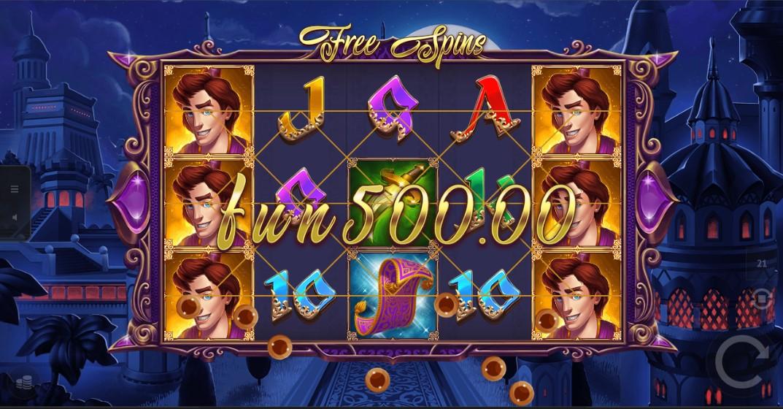 Play Aladdins Lamp Slot Game