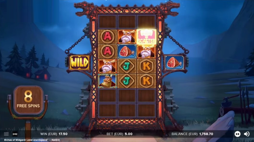 Riches of Midgard: Land and Expand demo