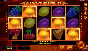 All Ways Hot Fruits  demo
