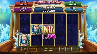 Almighty Jackpots: Realm of Poseidon demo