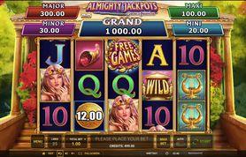 Almighty Jackpots Garden of Persephone demo