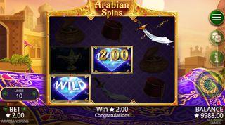 Arabian Spins demo