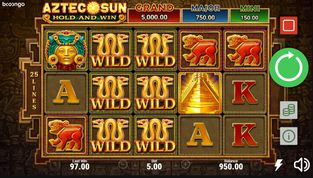 Aztec Sun: Hold and Win  demo