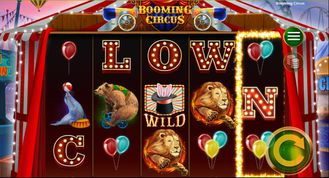 Booming Circus Slot