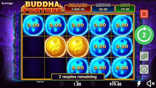 Buddha Fortune Hold and Win demo