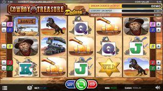 Cowboy Treasure Deluxe Slot