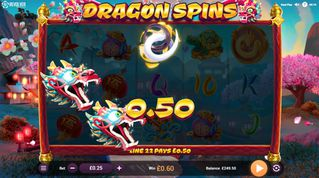 Dragon Spins  demo