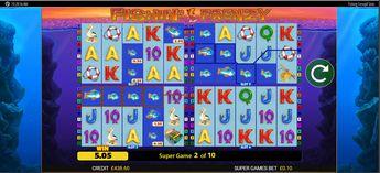 Fishin Frenzy Power 4 Slots demo