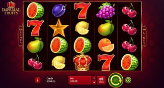 Imperial Fruits 100 Lines Slot