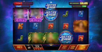 Justice League Comic Slot