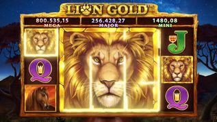 Lion Gold Super Stake  Slot