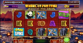 PowerBucks Wheel of Fortune Exotic Far East . demo
