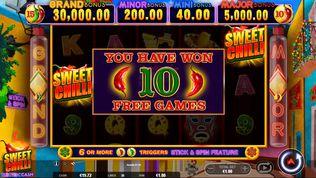 Sweet Chilli Electric Cash Slot