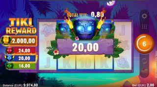 Tiki Reward  demo
