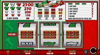 Tricolore 7s  Slot