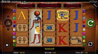 Eye of Horus Jackpot King demo