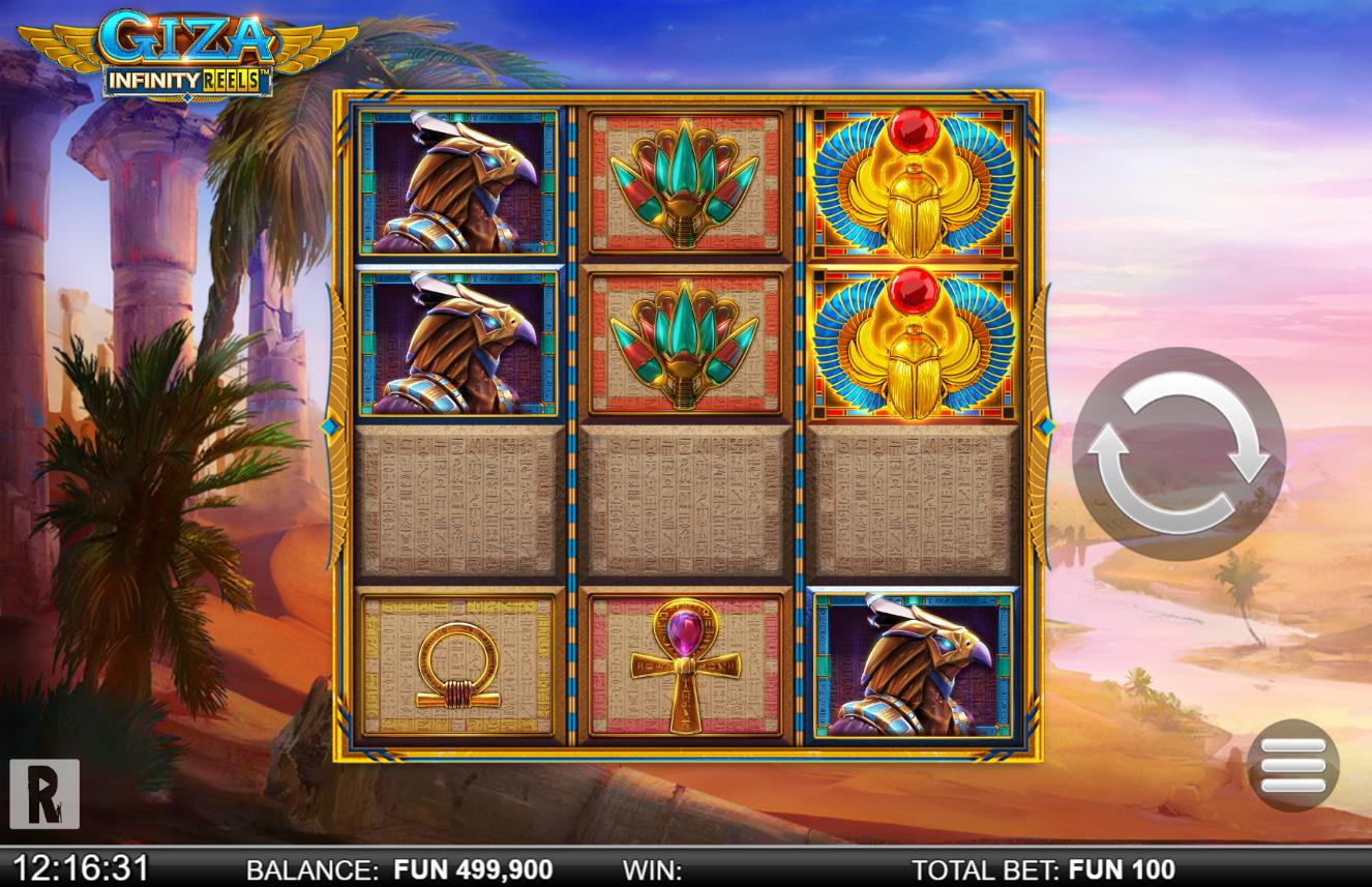 Giza: Infinity Reels demo