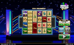 Wheel of Fortune Megaways demo