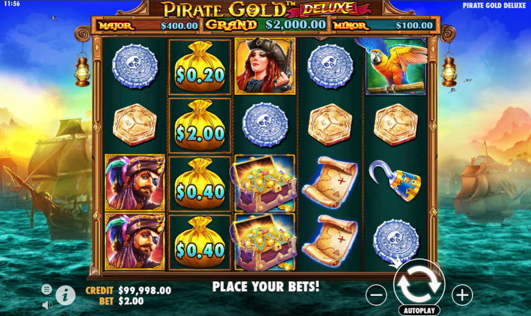 Pirate Gold Deluxe demo