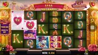 Queen of Wonderland Megaways  Slot