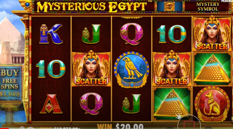 Mysterious Egypt  demo