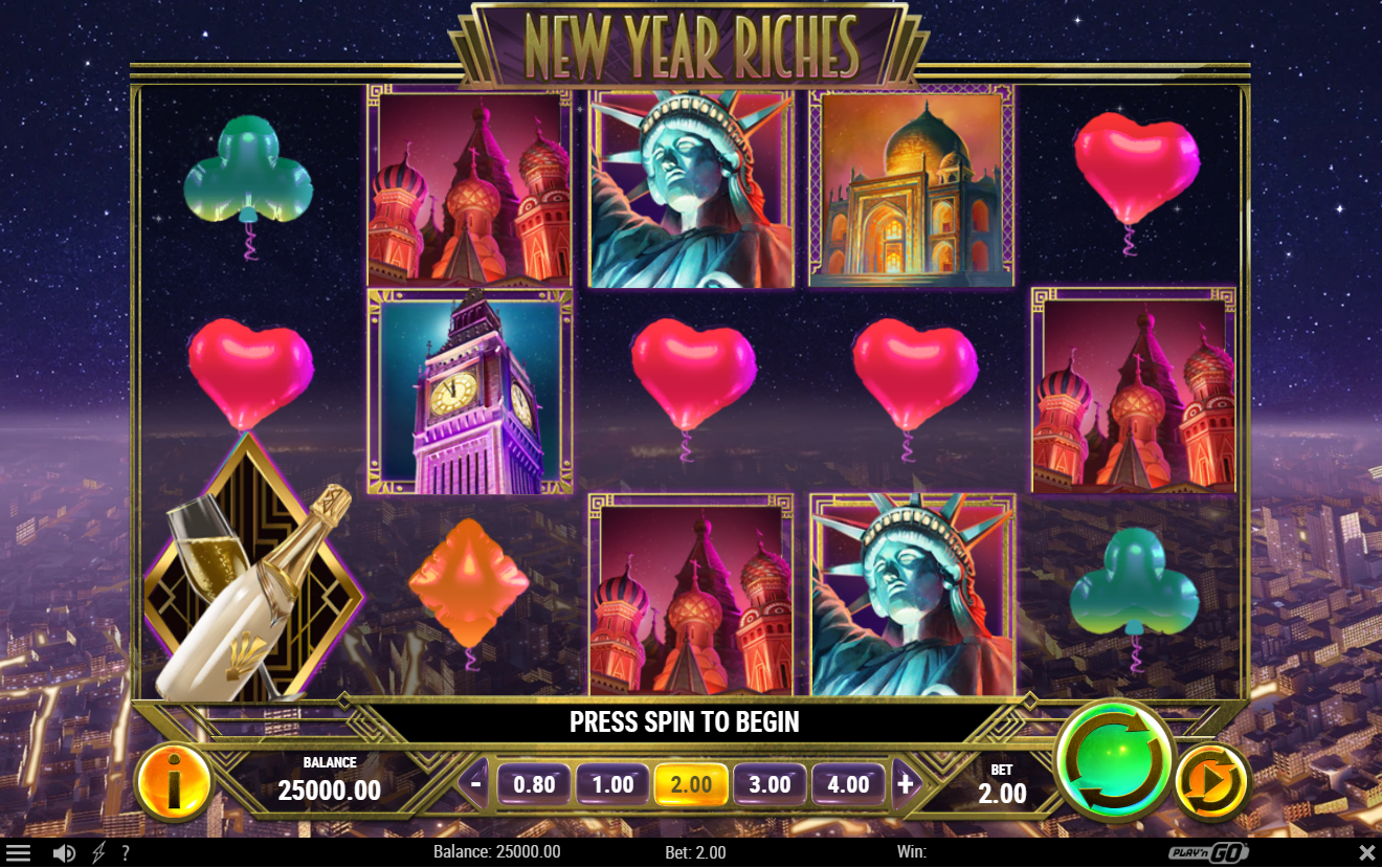 New Year Riches demo