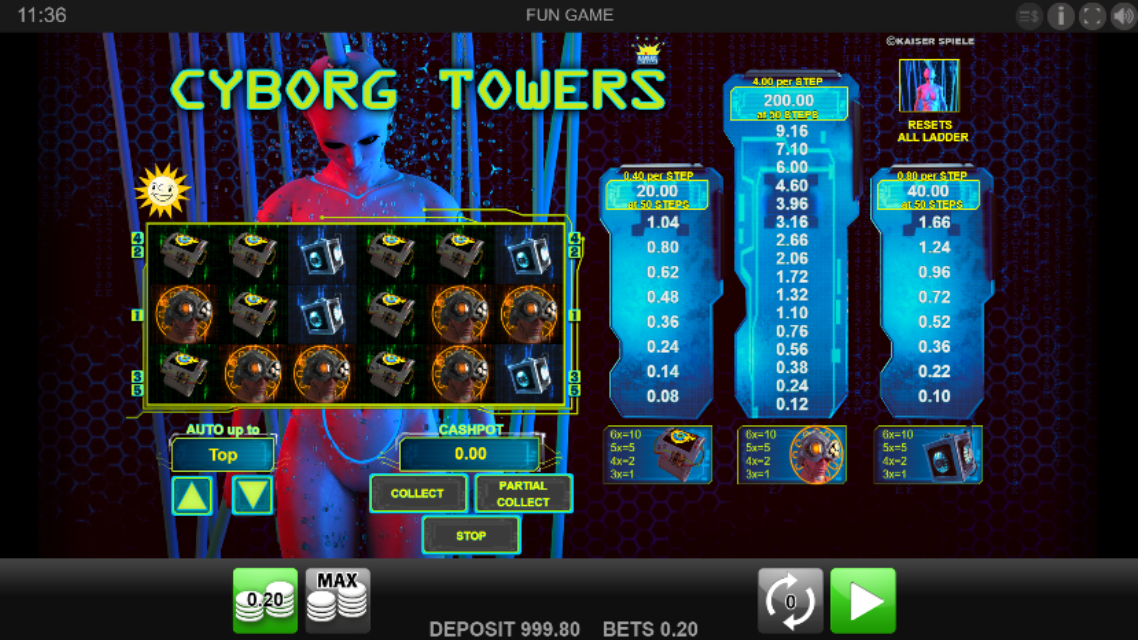 Cyborg Towers demo
