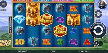 Rhino Blitz Slot