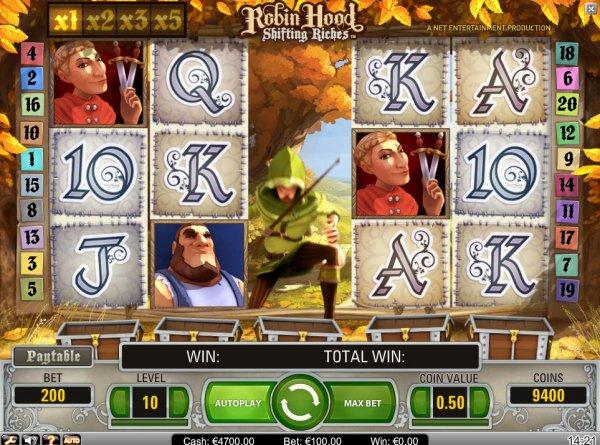 Robin Hood Shifting Riches demo