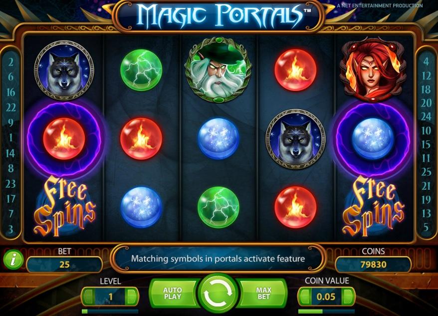 Magic Portals demo