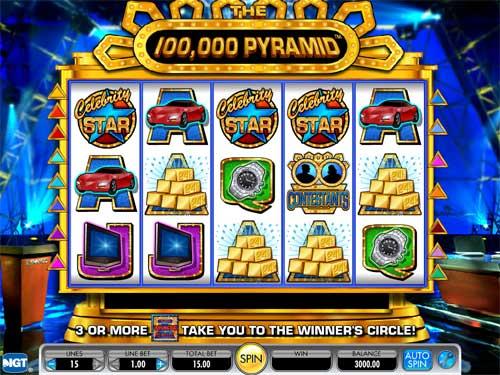 The 100 000 Pyramid demo