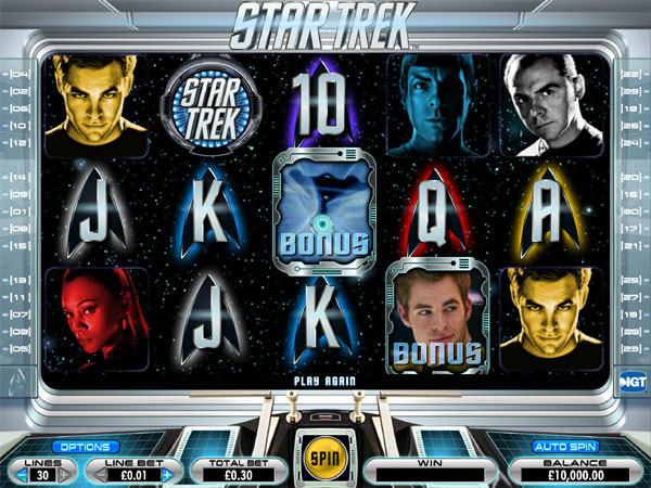 Star Trek demo