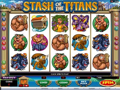 Stash Of The Titans demo
