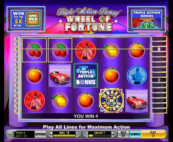 Wheel of Fortune: Triple Action Frenzy demo