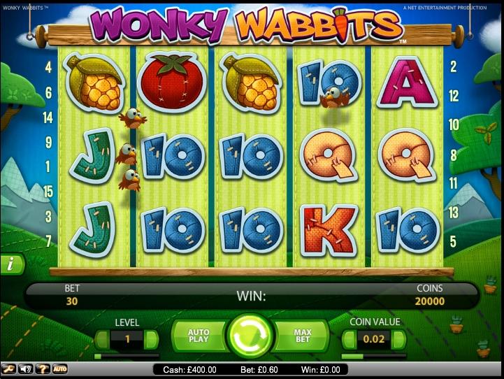 Wonky Wabbits demo