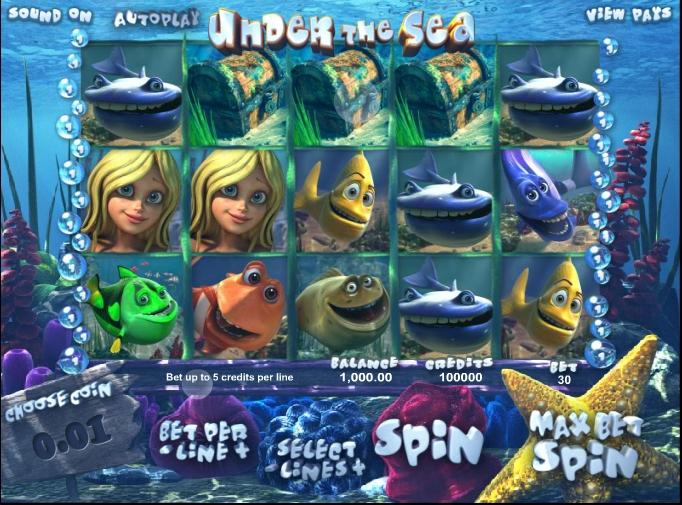 Under The Sea demo