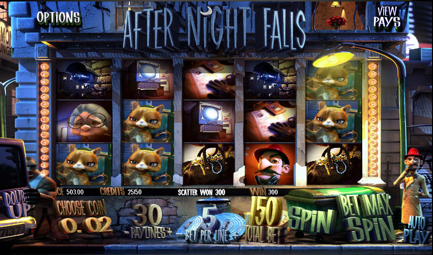 After Night Falls demo