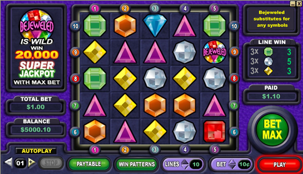 Bejeweled demo