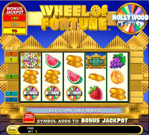Wheel of Fortune Hollywood Edition demo