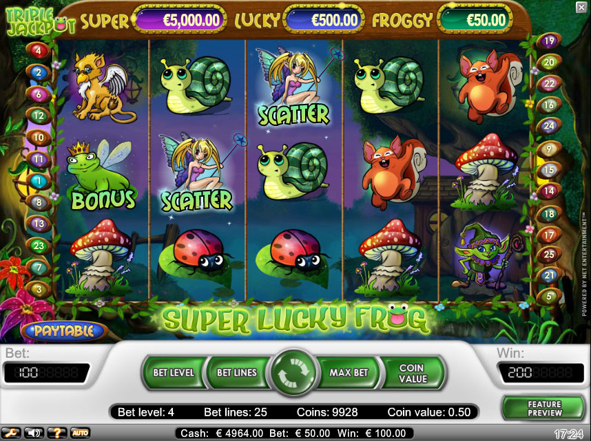 Super Lucky Frog demo