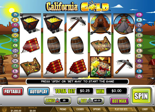 California Gold  demo