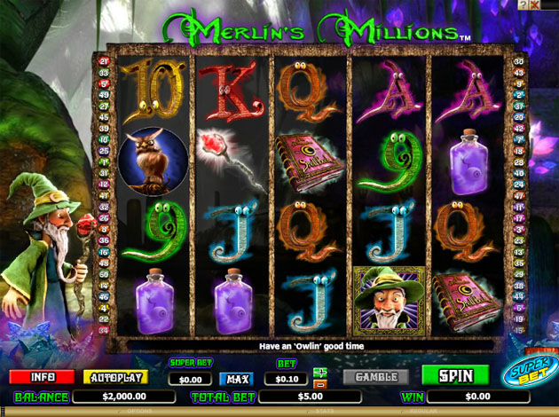 Spiele MerlinS Magic Respins - Video Slots Online