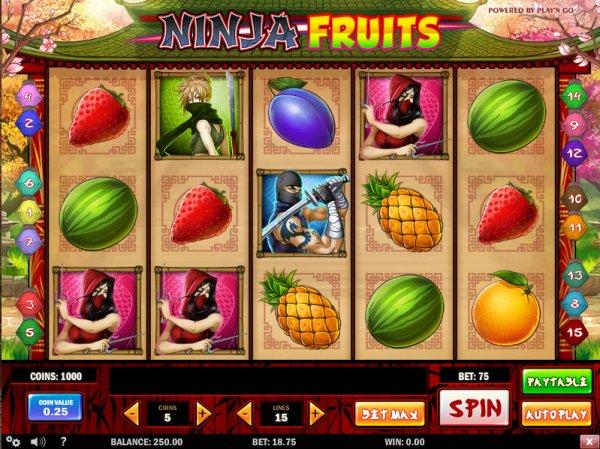Ninja Fruits demo