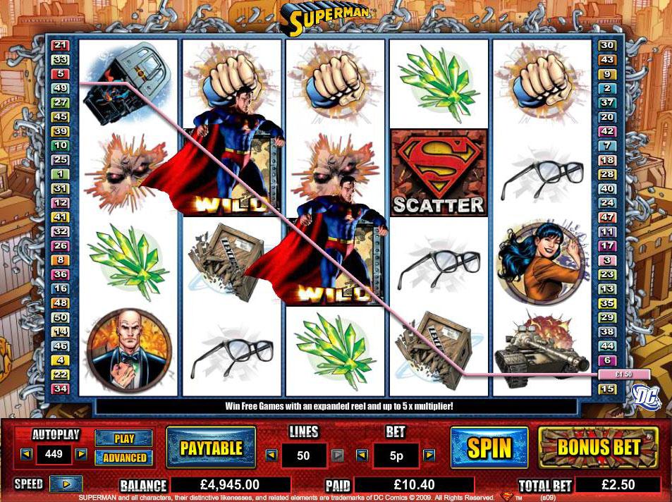 Superman demo