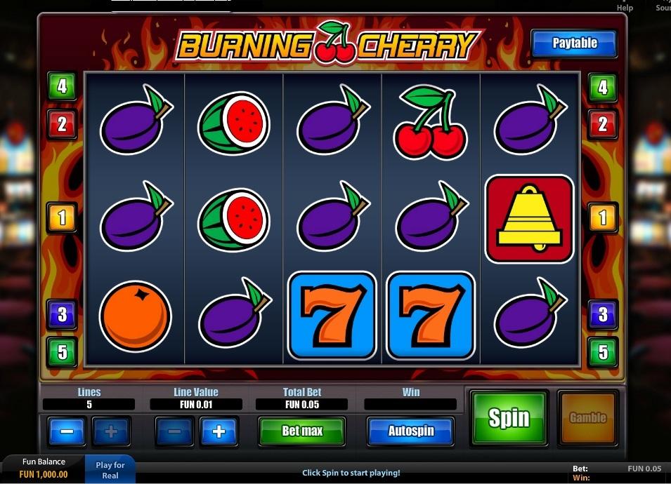 Burning Cherry demo